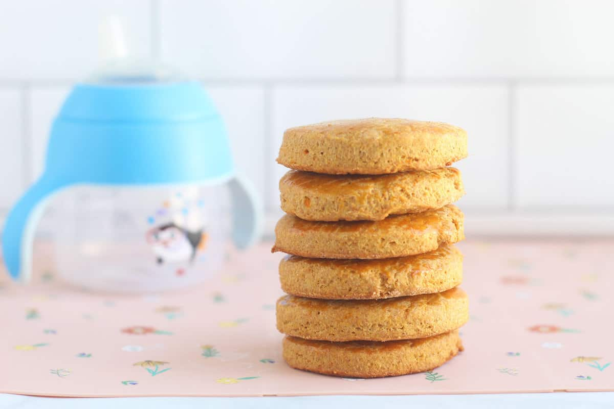 stack-of-teething-biscuits-on-table