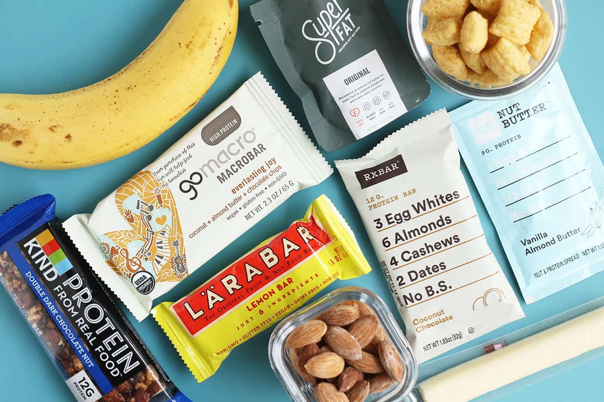 Snacks for Breastfeeding and New Moms to Eat with One Hand
